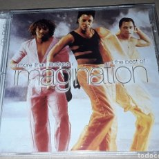 CDs de Música: CD + DVD - IMAGINATION - MORE THAN ILLUSIONS - THE BEST OF IMAGINATION. Lote 162333237