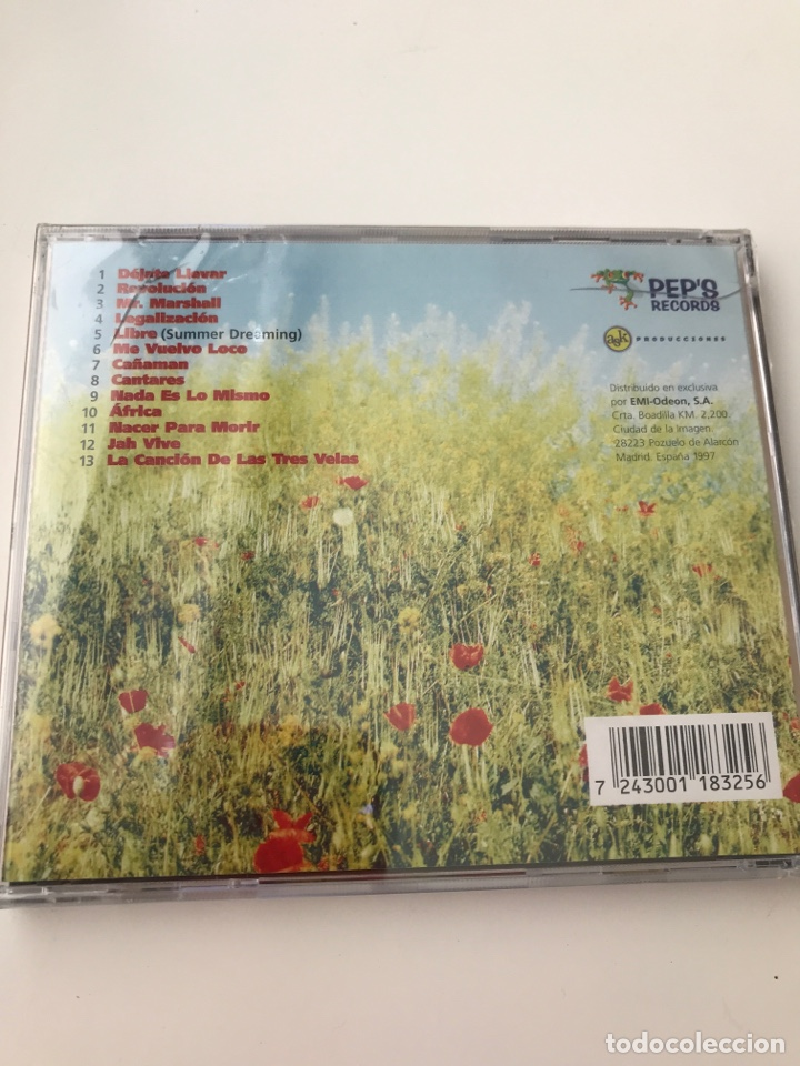 CDs de Música: CAÑAMAN CD 1997. PRECINTADO - Foto 2 - 162368177