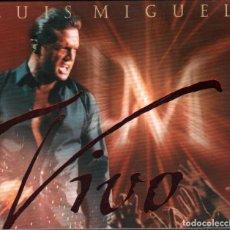 CDs de Música: LUIS MIGUEL - VIVO / CD DE 2000 DIGIPACK EN PERFECTO ESTADO. Lote 162412182