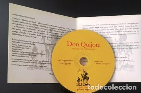 CDs de Música: DON QUIJOTE DE LA MANCHA - CERVANTES - AUDIO LIBRO - 26 FRAGMENTOS ESCOGIDOS - Foto 2 - 162419098