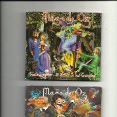 CDs de Música: MAGO DE OZ.FIESTA PAGANA (2 TEMAS) LA DANZADLE FUEGO (2 TEMAS). (2 CD SINGLES ). Lote 162445814