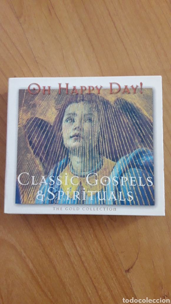OH HAPPY DAY! CLASSIC GOSPELS & SPIRITUALS. DOBLE CD (Música - CD's Jazz, Blues, Soul y Gospel)