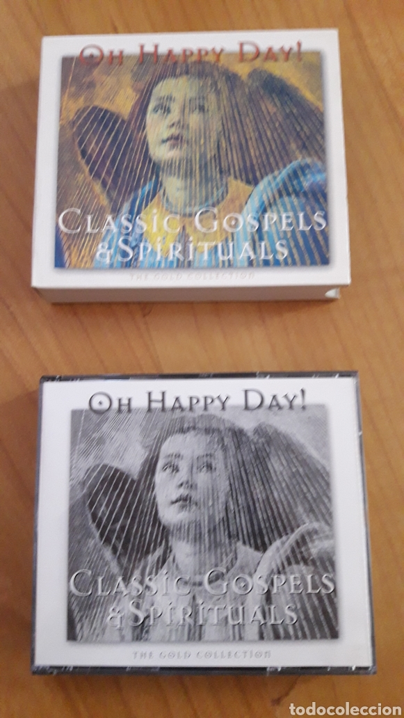 CDs de Música: OH HAPPY DAY! CLASSIC GOSPELS & SPIRITUALS. DOBLE CD - Foto 3 - 162470761