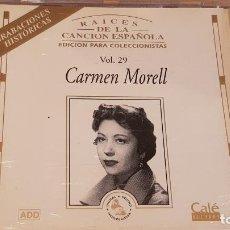 CDs de Música: CARMEN MORELL / RAICES DE LA CANCIÓN ESPAÑOLA VOL. 29 / CD - CALE RECORDS / 16 TEMAS / LUJO.. Lote 162471214