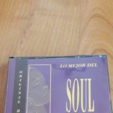 CDs de Música: LO MEJOR DEL SOUL. DOBLE CD. Lote 162474060