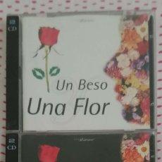 CDs de Música: UN BESO Y UNA FLOR VOL.1 Y VOL. 2 (NINO BRAVO, CECILIA, MOCEDADES, MECANO,DUNCAN DHU..) 4 CD'S 1995. Lote 162485130