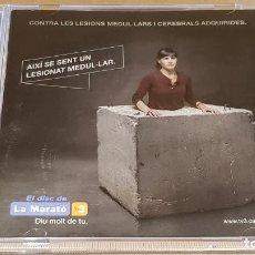 CDs de Música: EL DISC DE LA MARATÓ DE TV3 - 2010 / 17 TEMAS / CALIDAD LUJO.. Lote 162496534