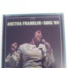 CDs de Música: ARETHA FRANKLIN SOUL 69 ( 1969 ATLANTIC ). Lote 162503318