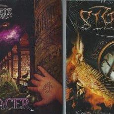 CDs de Música: OSSYRIS LOT 2 CD SPANISH HEAVY 2012/15-TRAILER-ADAREL-SANTA-SARATOGA-MAGO DE OZ-AVALANCH. Lote 162506454