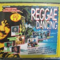 CDs de Música: REGGAE DANCING DOBLE CD ARCADE 1989 PEPETO. Lote 162517326