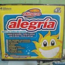 CDs de Música: DISCO ALEGRIA 4 X CDS ALBUM TEMPO MUSIC . Lote 162518470