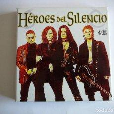 CDs de Música: HÉROES DEL SILENCIO 4 CDS. CAJA. Lote 162545502