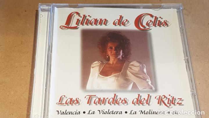 LILIAN DE CELIS / LAS TARDES DEL RITZ / CD - DOBLON-1991 / 12 TEMAS / CALIDAD LUJO. (Música - CD's Flamenco, Canción española y Cuplé)