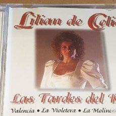 CDs de Música: LILIAN DE CELIS / LAS TARDES DEL RITZ / CD - DOBLON-1991 / 12 TEMAS / CALIDAD LUJO.. Lote 162569638