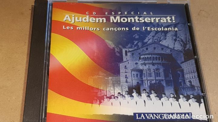 AJUDEM MONTSERRAT / LES MILLORS CANÇONS DE L'ESCOLANIA / CD-10 TEMAS / LUJO. (Música - CD's Otros Estilos)