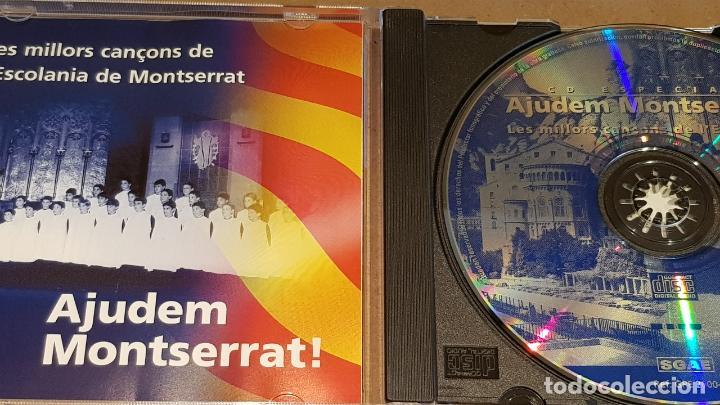 CDs de Música: AJUDEM MONTSERRAT / LES MILLORS CANÇONS DE L'ESCOLANIA / CD-10 TEMAS / LUJO. - Foto 2 - 162573350