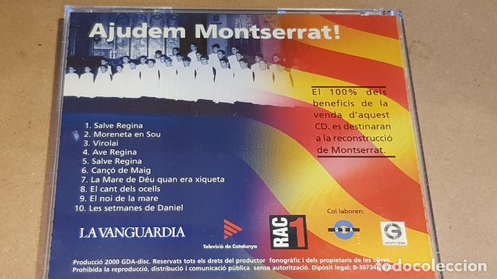 CDs de Música: AJUDEM MONTSERRAT / LES MILLORS CANÇONS DE L'ESCOLANIA / CD-10 TEMAS / LUJO. - Foto 3 - 162573350