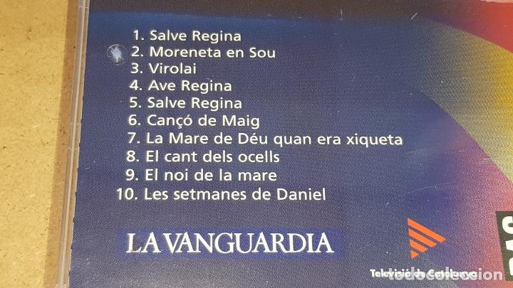 CDs de Música: AJUDEM MONTSERRAT / LES MILLORS CANÇONS DE L'ESCOLANIA / CD-10 TEMAS / LUJO. - Foto 4 - 162573350