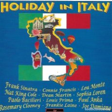 CDs de Música: HOLIDAY IN ITALIA. FRANK SINATRA. SOPHIA LOREN. CONNIE FRANCIS. CD. Lote 162576302