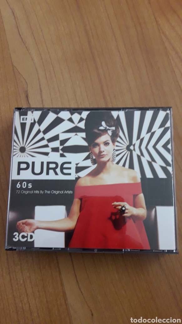 CDs de Música: PURE 60S. TRIPLE CD - Foto 1 - 162606049