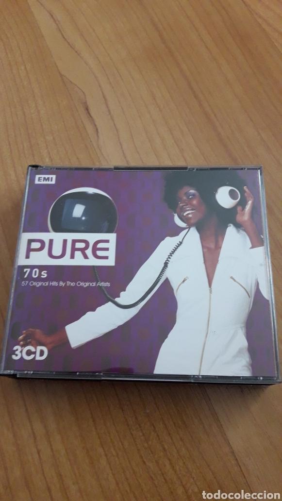 PURE 70S. TRIPLE CD (Música - CD's Otros Estilos)