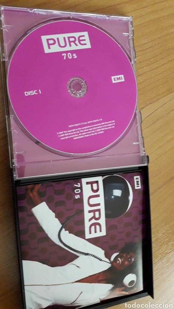 CDs de Música: PURE 70S. TRIPLE CD - Foto 3 - 162606582