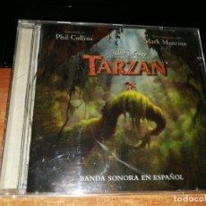 CDs de Música: PHIL COLLINS TARZAN BANDA SONORA EN ESPAÑOL CD ALBUM WALT DISNEY 16 TEMAS GENESIS NSYNC. Lote 171166853