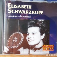 CDs de Música: ELISABETH SCWARZKOPF -CANCIONES DE NAVIDAD -. Lote 162659874