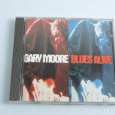 CDs de Música: GARY MOORE BLUES ALIVE CD. Lote 180841763