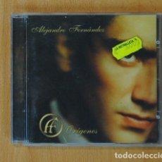 CDs de Música: ALEJANDRO FERNANDEZ - ORIGENES - CD. Lote 162681578