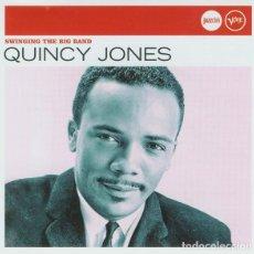 CDs de Música: QUINCY JONES - SWINGING THE BIG BAND - CD. Lote 162707042