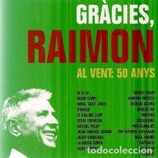 CDs de Música: RAIMON AL VENT : 50 ANYS. Lote 162716930