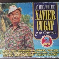 CDs de Música: LO MEJOR DE XAVIER CUGAT Y SU ORQUESTA 2 CD DESCATALOGADO. Lote 162760234