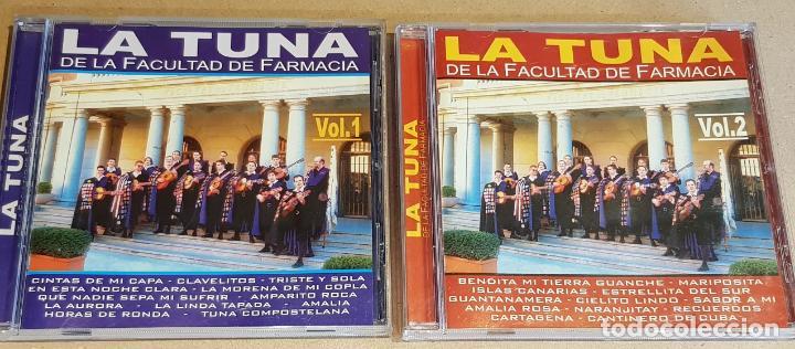 LA TUNA DE LA FACULTAD DE FARMACIA / VOL 1 Y 2 / 24 TEMAS / EN CALIDAD LUJO. (Música - CD's Country y Folk)