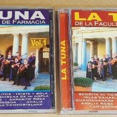 CDs de Música: LA TUNA DE LA FACULTAD DE FARMACIA / VOL 1 Y 2 / 24 TEMAS / EN CALIDAD LUJO.. Lote 162766658