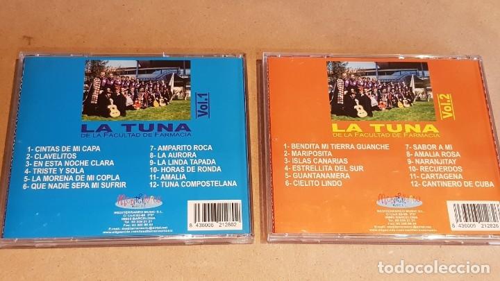 CDs de Música: LA TUNA DE LA FACULTAD DE FARMACIA / VOL 1 Y 2 / 24 TEMAS / EN CALIDAD LUJO. - Foto 3 - 162766658