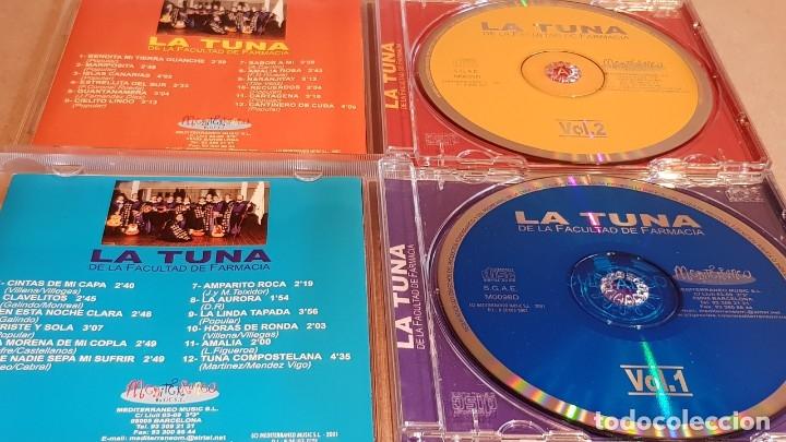 CDs de Música: LA TUNA DE LA FACULTAD DE FARMACIA / VOL 1 Y 2 / 24 TEMAS / EN CALIDAD LUJO. - Foto 2 - 162766658