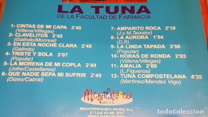 CDs de Música: LA TUNA DE LA FACULTAD DE FARMACIA / VOL 1 Y 2 / 24 TEMAS / EN CALIDAD LUJO. - Foto 4 - 162766658