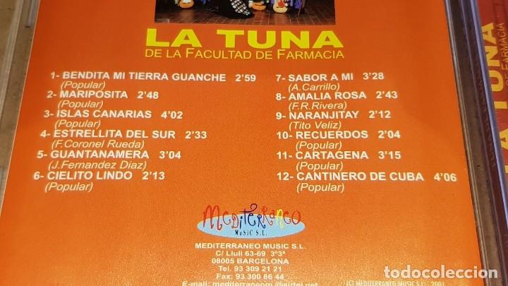 CDs de Música: LA TUNA DE LA FACULTAD DE FARMACIA / VOL 1 Y 2 / 24 TEMAS / EN CALIDAD LUJO. - Foto 5 - 162766658