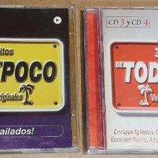 CDs de Música: DE TODO UN POCO / 2 X DOBLE CD - VALE MUSIC / 60 TEMAS / CALIDAD LUJO.. Lote 162768070