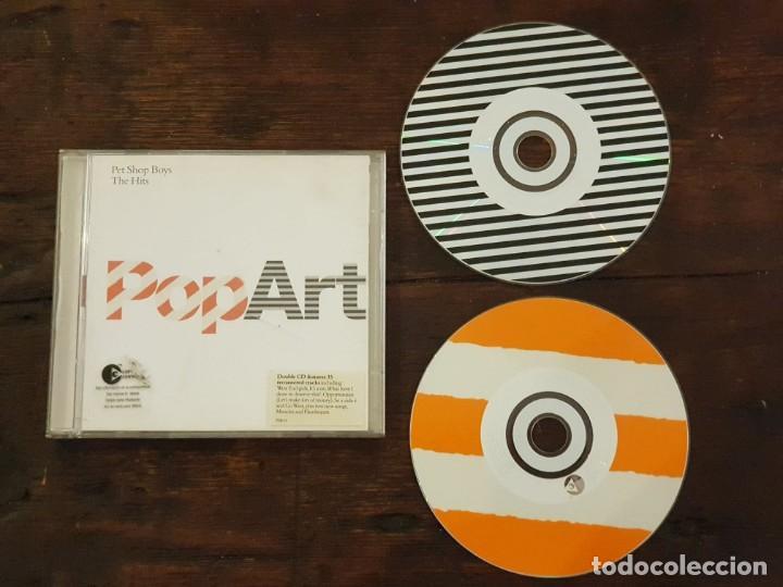 PET SHOP BOYS - THE HITS POP ART - 2 CD'S REMASTERED - PARLOPHONE 07243 594837 2 6 (Música - CD's Pop)