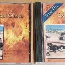 CDs de Música: ÉXITOS DEL OESTE / SERIE ORO / VOL 1 Y 2 / 2 CDS- NEVADA / 24 TEMAS / CALIDAD LUJO.. Lote 162771982