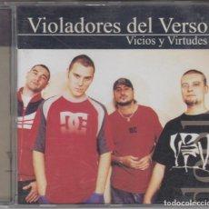CDs de Música: VIOLADORES DEL VERSO CD VICIOS Y VIRTUDES 2001 BOA. Lote 162772658
