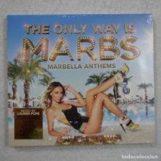 CDs de Música: THE ONLY WAY IS MARBS - MARBELLA ANTHEMS - 3 CD 2004 PRECINTADO . Lote 162802318