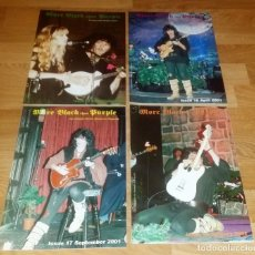 CDs de Música: MORE BLACK DEEP PURPLE 4 OFFICIAL CLUB FANS 2000/01 RAINBOW-LED ZEPPELIN(COMPRA MINIMA 15 EUR). Lote 162807738