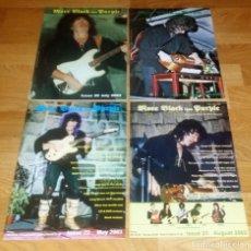 CDs de Música: MORE BLACK DEEP PURPLE 4 OFFICIAL CLUB FANS 2002/2003 RAINBOW-LED ZEPPELIN(COMPRA MINIMA 15 EUR). Lote 162810746
