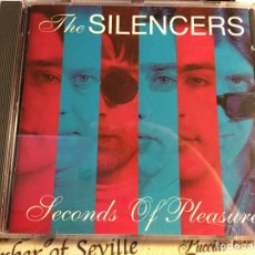 CDs de Música: THE SILENCERS ‎– SOUNDS OF PLEASURE (CD) EXCELENTE ESTADO. Lote 162816546