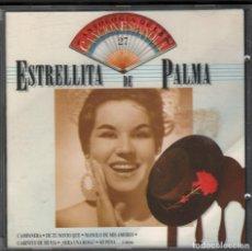 CDs de Música: ESTRELLITA DE PALMA - ANTOLOGIA DE LA CANCION ESPAÑOLA, VOL. 27 - CD DE 1990 RF-1779. Lote 210778877