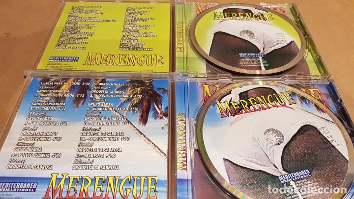 CDs de Música: MERENGUE / BAILANDO GRANDES ÉXITOS / PACK 2 CDS - MEDITERRÁNEO MUSIC / 24 TEMAS / LUJO. - Foto 3 - 162864030
