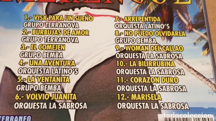 CDs de Música: MERENGUE / BAILANDO GRANDES ÉXITOS / PACK 2 CDS - MEDITERRÁNEO MUSIC / 24 TEMAS / LUJO. - Foto 5 - 162864030